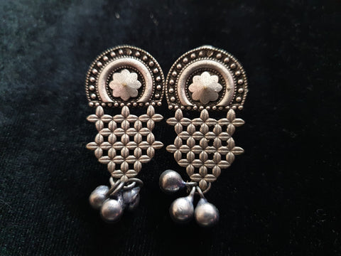 premium quality Antique Silver Earrings 0987