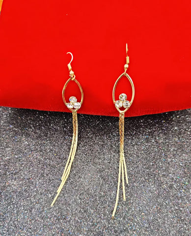Golden Chain Jhumka 010