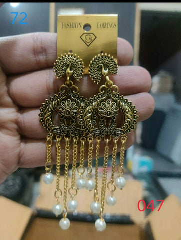 Ethnic Earrings Design 047