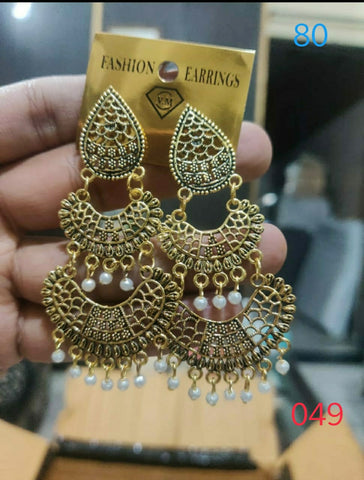 Ethnic Earrings Design 049