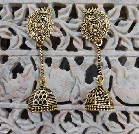 New Antique Look Chain Jhumka 9169XY