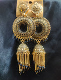 Handpainted Beads Jhumka