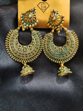 Ethnic Hand Painted Earrings Design029