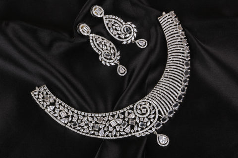 Premium Diamond Replica Necklace Code 916509SW