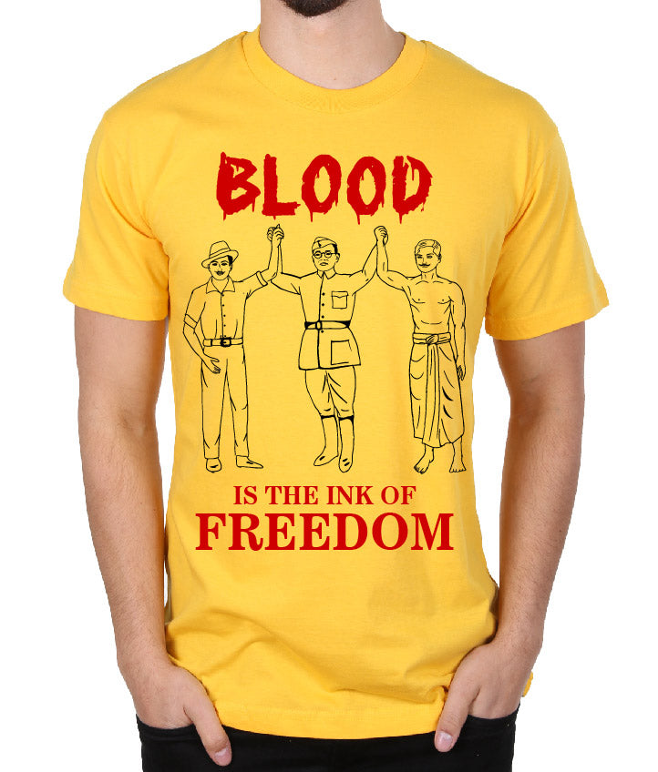 Blood is the Ink of Freedom