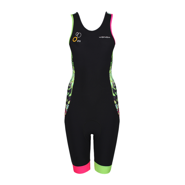 Velocita Performance Triathlon Suit Womens Racer Back