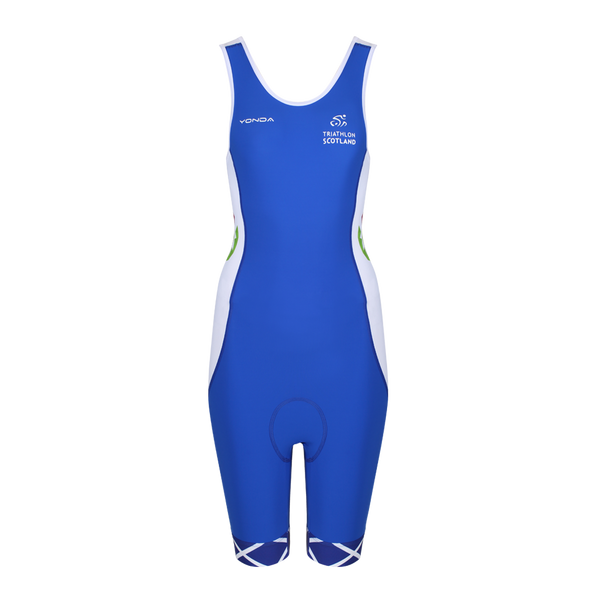 Scotland Replica Performance Triathlon Suit Womens Racer Back