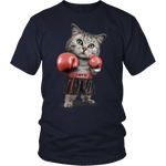 FUNNY Boxing Cat Lovers Gifts T-Shirts