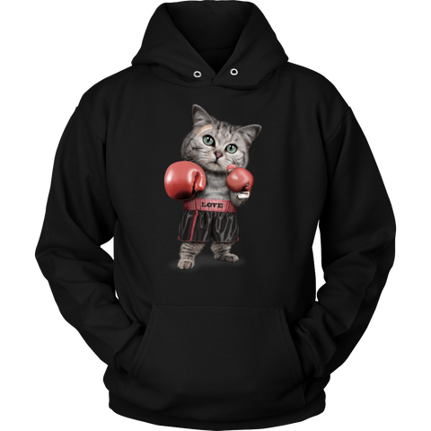 FUNNY Boxing Cat Lovers Gifts T-Shirts-5