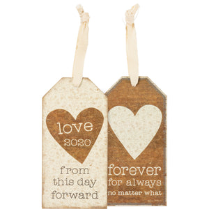 Bottle Tag - Love 2020 From This Day Forward