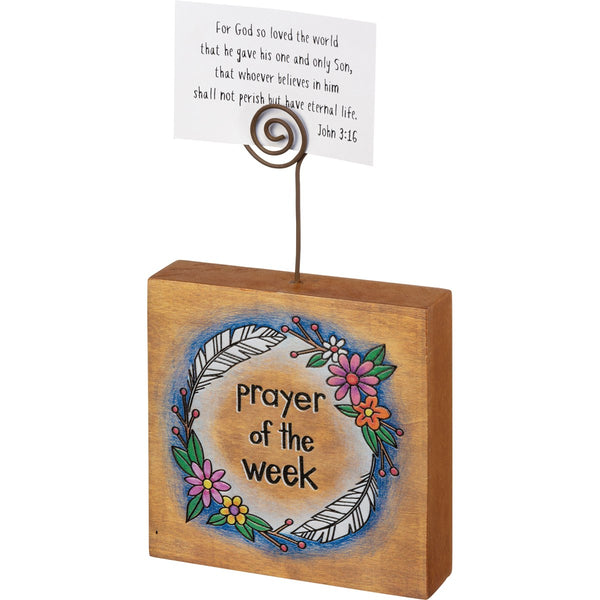 Photo Block - Prayer Of The Week