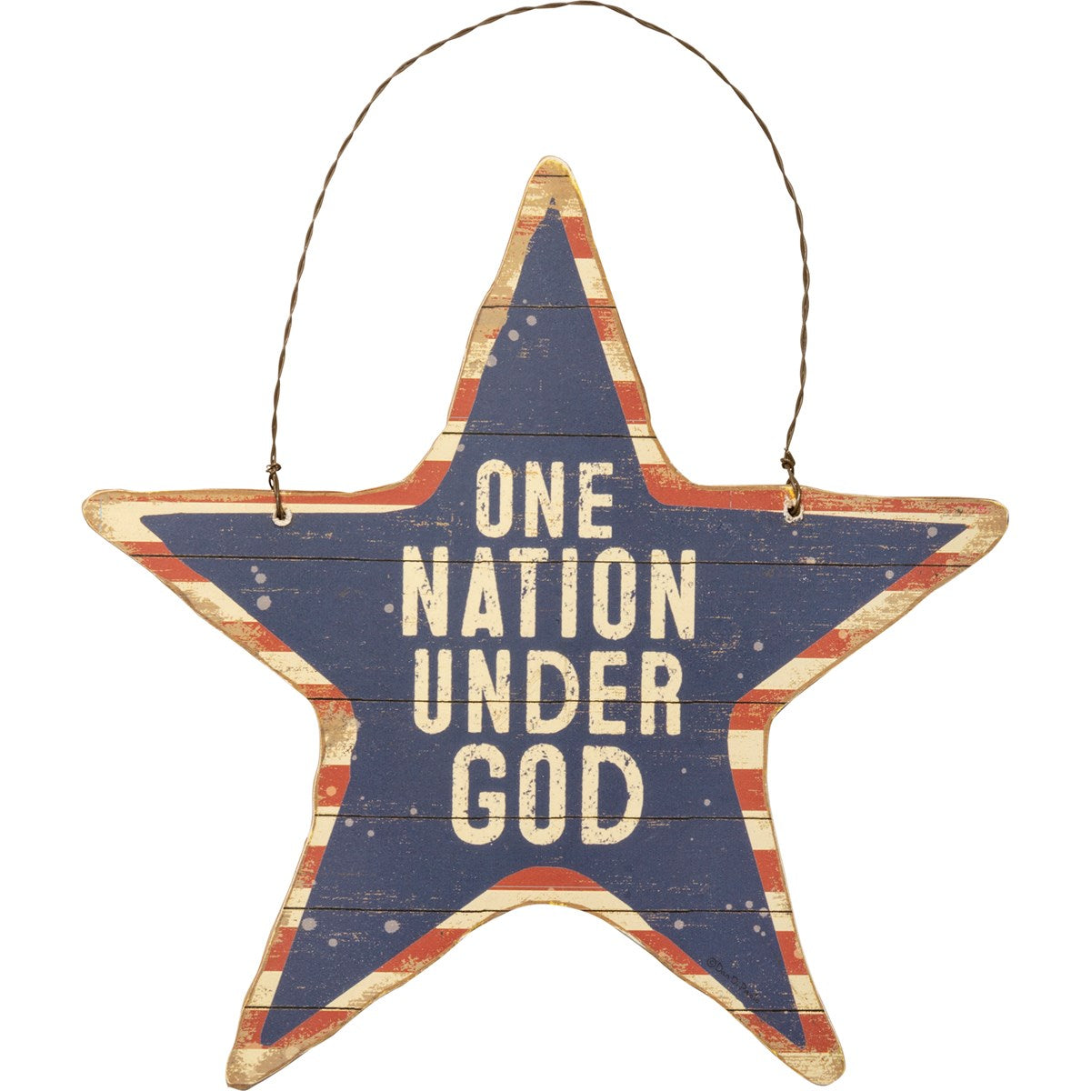 Hanging Decor - One Nation Under God
