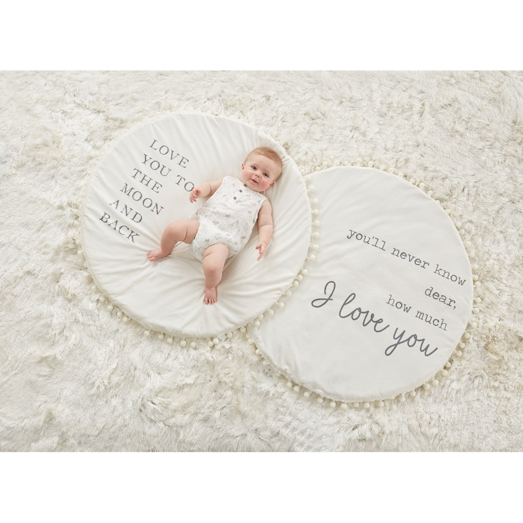PLUSH WORD BABY PLAY MATS