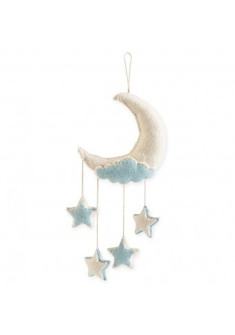 Felt Moon Wall Hanging/Mobile