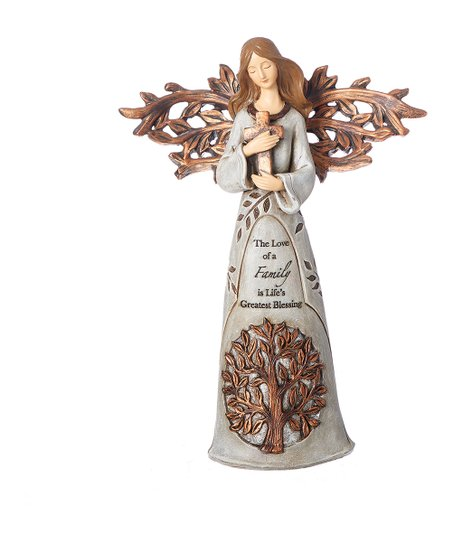 TREE OF LIFE ANGEL w/CROSS