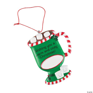 Personalized Hot Cocoa Ornament