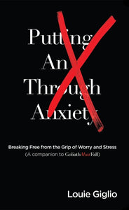 Putting an X Through Anxiety Booklet