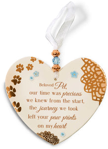 Beloved Pet Heart-Shaped Ornament