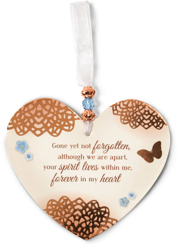 In Memory - Heart Ornamen
