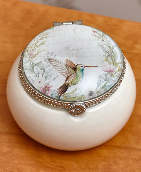 Hummingbird Keepsake Box
