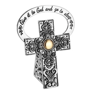 Give It To God Bedside Cross