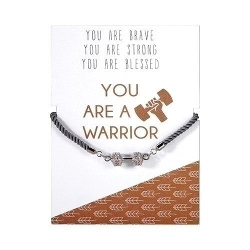 YOU ARE A WARRIOR NECKLACE OR BRACELET