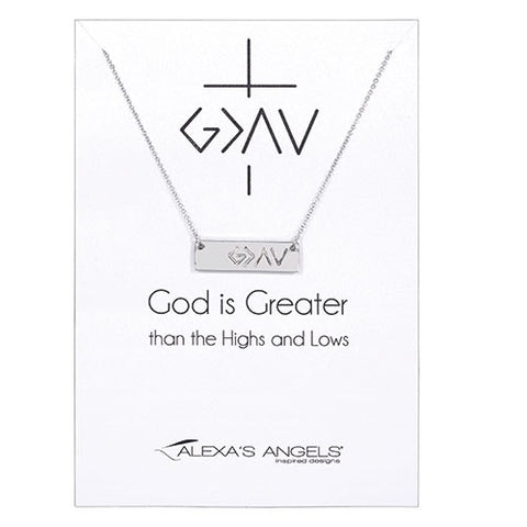God is Greater Than... Necklace