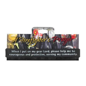 Firefighter's Prayer Silicone Bracelet