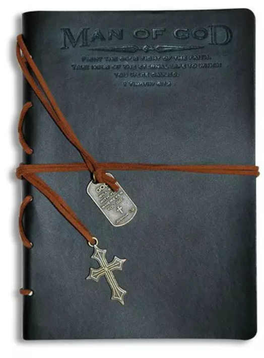Man of God Scripture Journal with Bookmark