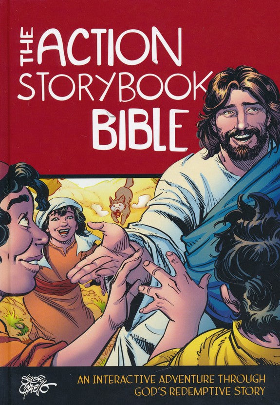 Action Storybook Bible