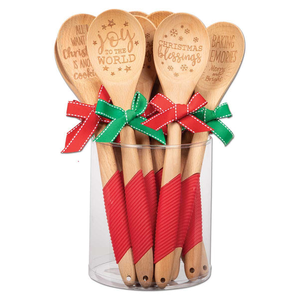 Christmas Sentiment Kitchen Spoons