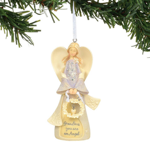 Grandma Angel Ornament