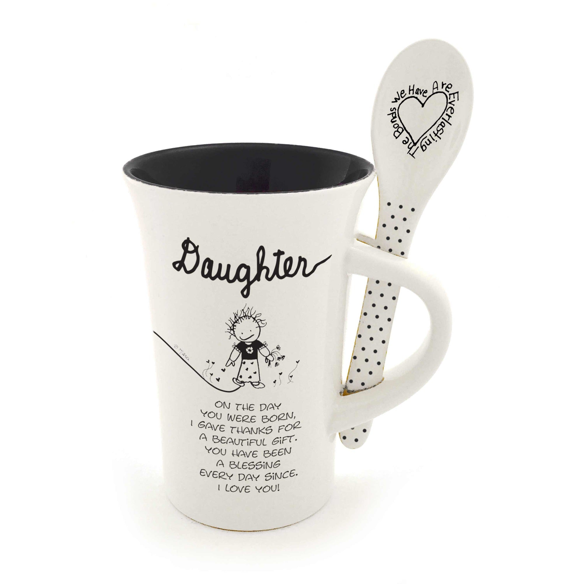 Daughter Mug and Spoon set
