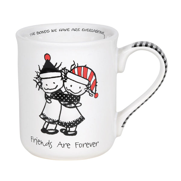 Friends are Forever Christmas Mug