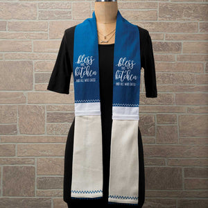 Adorable Kitchen Towel Scarves