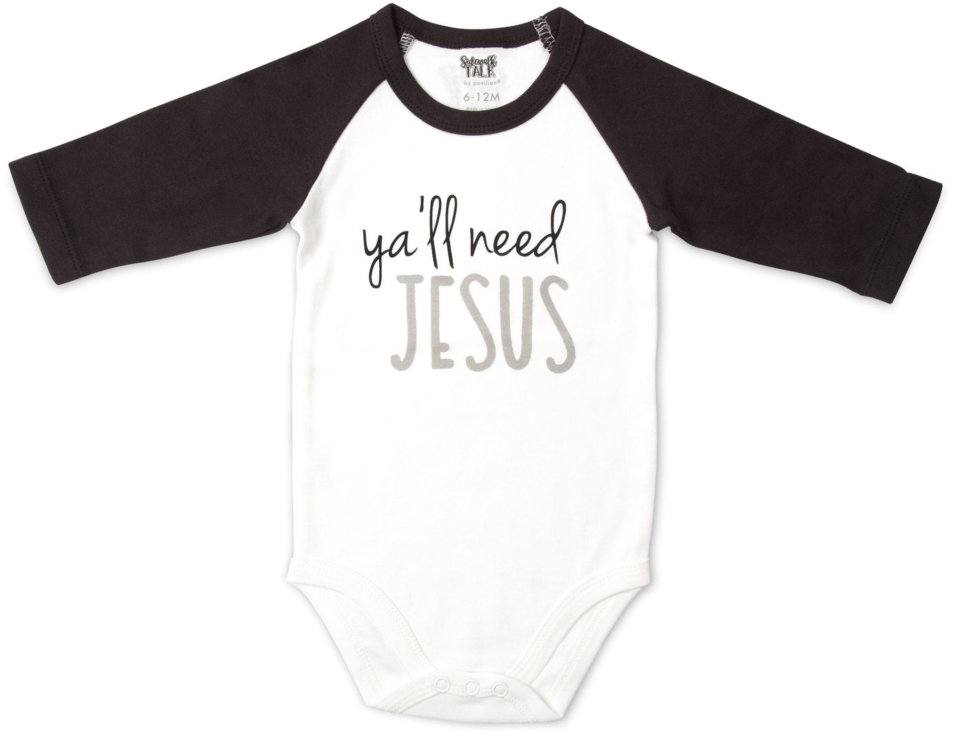 Ya'll Need Jesus Baby One-piece