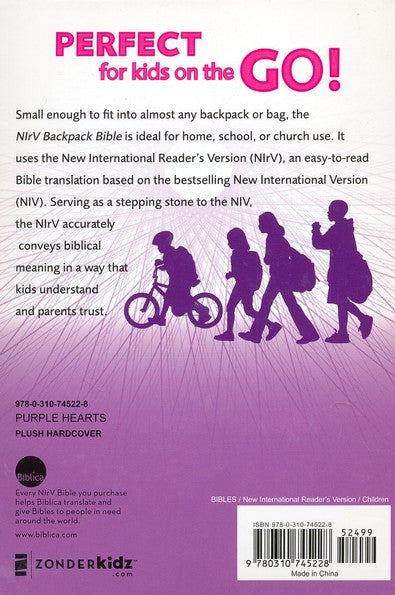 Youth Backpack Bibles