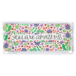 you are amazing Floral Emery Board Set