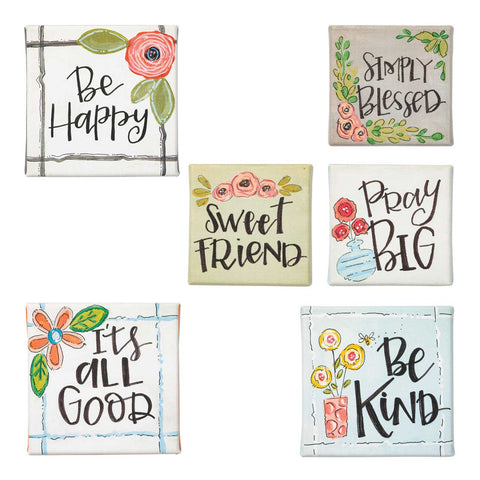 Simple Inspirations Mini Canvas Sign