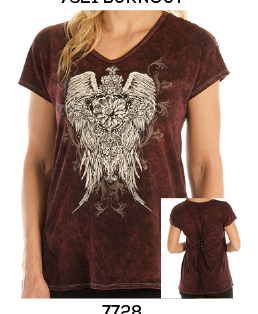 Ornate Angel Wing Tee