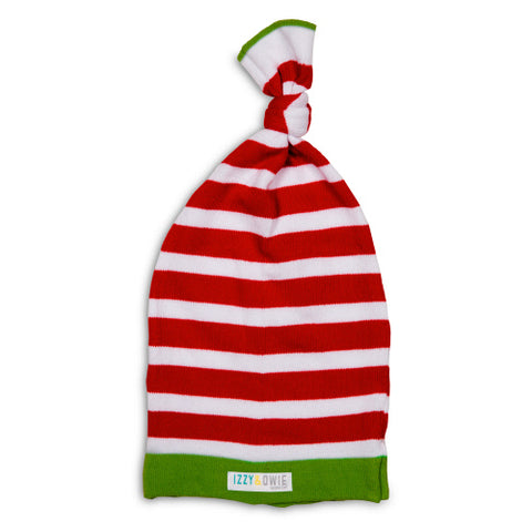 Striped Christmas Infant Hat