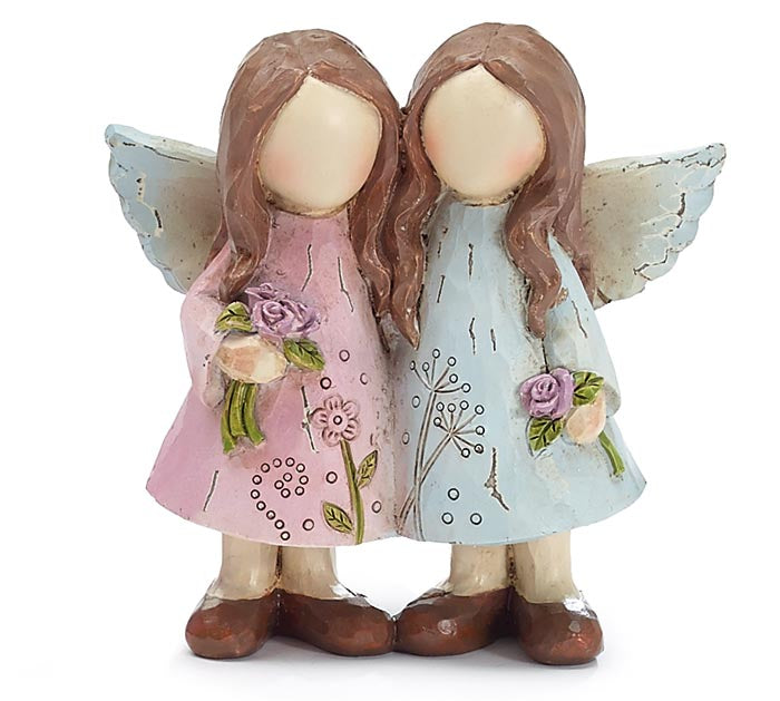 Pastel Twin Angels