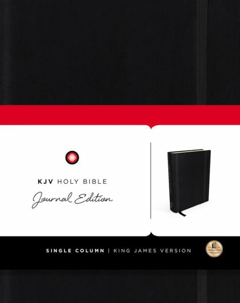 KJV Holy Bible Journal Edition Black