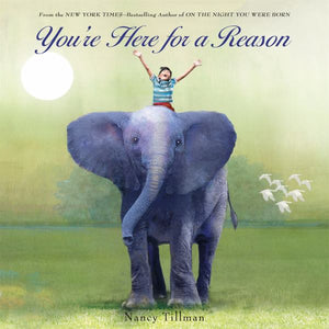 You're Here for a Reason - Board Book