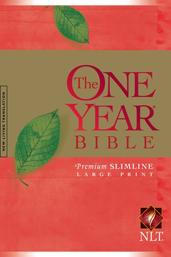 One Year Bible NLT Slimline