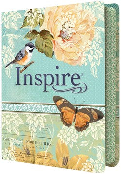 Inspire Bible NLT Teal Hardcover