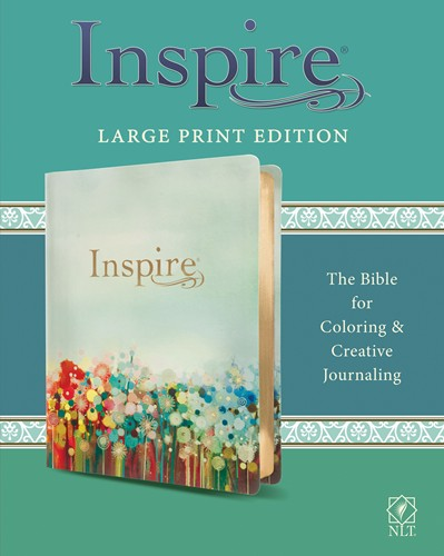 NLT Inspire Bible Large Print Softcover