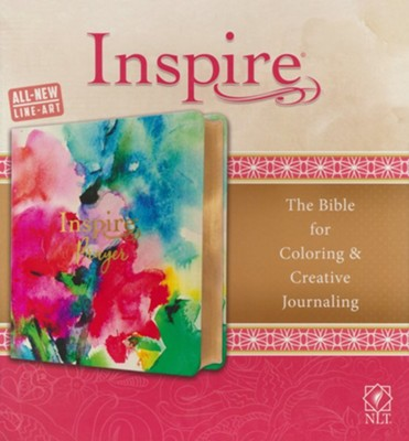 Inspire PRAYER Bible NLT LeatherLike Softcover