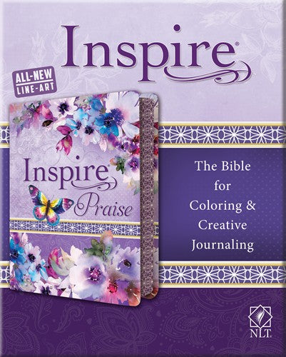 NLT Inspire Praise Bible Softcover