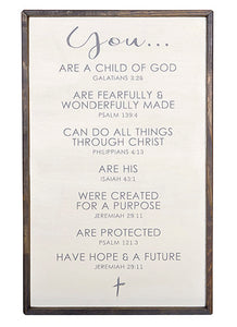 Affirmation Wall Sign